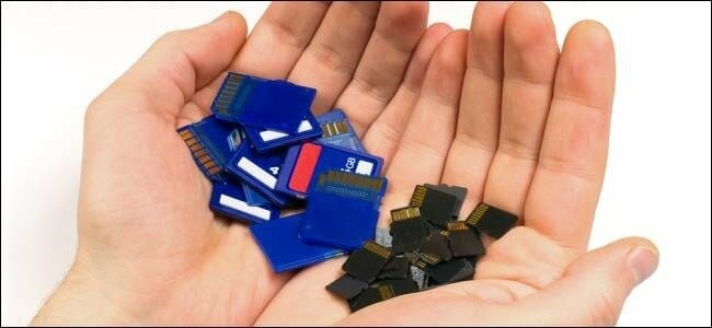 Memory Cards compatible with most portable devices