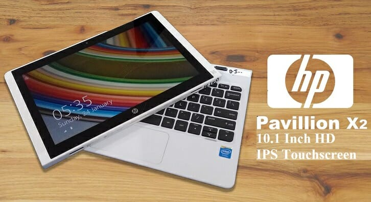 HP Pavilion 10.1-inch 2-in-1 touchscreen laptop