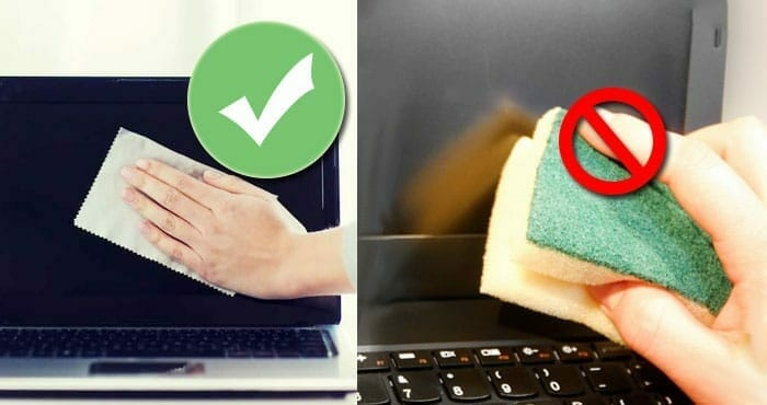 How to Clean the Matte Laptop Screen